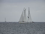 sailing boats near island Helgoland