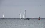 Segelboote bei Helgoland