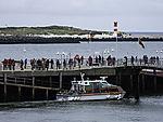 ferry on island Helgoland