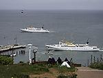 ferries off island Helgoland