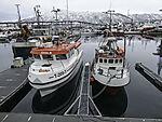 Fischerboote im Hafen von Tromsö
