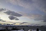 polar morning in northern Norway