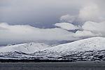 Polarmorgen über Insel Kvalöya