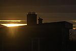 letztes Sonnenlicht vor Polarnacht über Tromsö