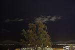 Wolken am Nachthimmel