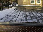 schlechte Isolierung auf Flachdach