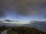 Regenbogen über Helgoland
