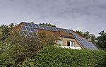 solar power on house