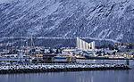 Polarnacht in Tromsö am Mittag