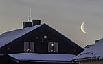 old Moon in Xmastime