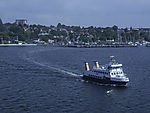 ferry laboe on Kiel Bay