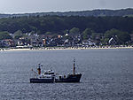 research vessel Littorina in Kiel bay