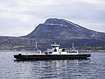 ferry Melshorn in Tysfjorden