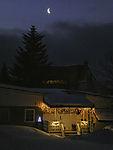 Weihnachtszeit in Polarnacht