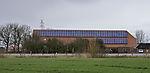 farm with solar power