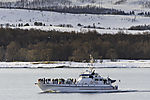 winter trousism near Tromso