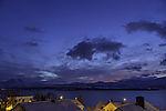 winter evening with planet Venus near Tromso
