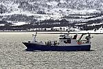 Fischdampfer Asbjörn Selsbane im Sandnessund