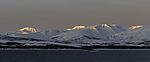 sunrise on island Kvalöya