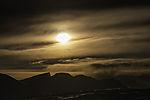 evening sun over mount Trolltinden