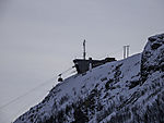 Tromso lift station in winter