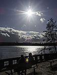 sun over lak Alster