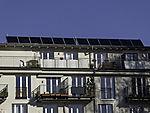 Solaranlage auf Wohnhaus in Hamburg