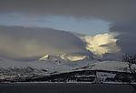 winter at mount Skittentinden