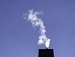 Rauch über Schornstein