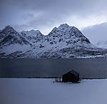 winter at Kjosenfjord