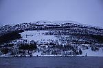 winter evening at Lyngenfjord
