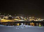 winter evening in Skjervöy