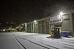 winter in harbour of Skjervöy