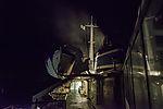flying firebrands over ships chimney