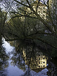 reflection on Isebek channel in Hamburg