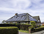 solar power on house
