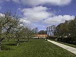 palace garden Lütetsburg in spring