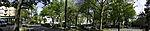 roundabout in Hamburg panorama