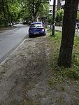 Bodenverdichtung durch parkende Autos