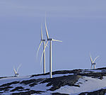 Windpark auf Kvalöya