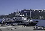 research vessel Kristine Bonnevie in Tromso