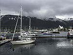 boats in Tromso harbour