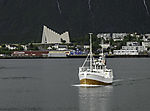 fishing boat in Tromso