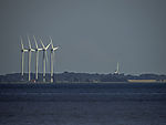 wind park on island Sealand