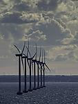 Windräder im Großen Belt