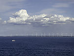 Windräder am Großen Belt