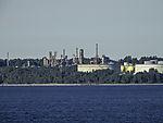 Raffinerie am Oslofjord