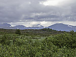 clouds over Saltfjellet