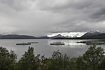 salmon farm in Leirfjorden