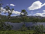 summer at lake Storvatnet